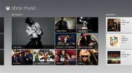 Xbox Music to offer on-demand music free on tablet