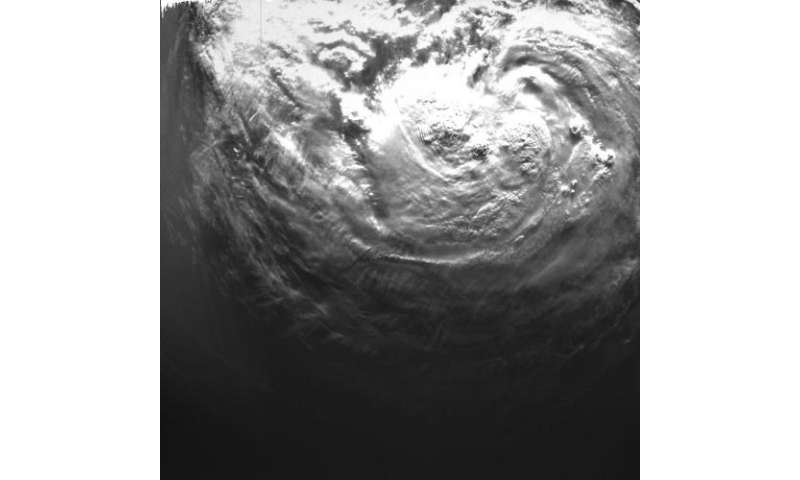Proba-2's espresso-cup microcamera snaps Hurricane Isaac