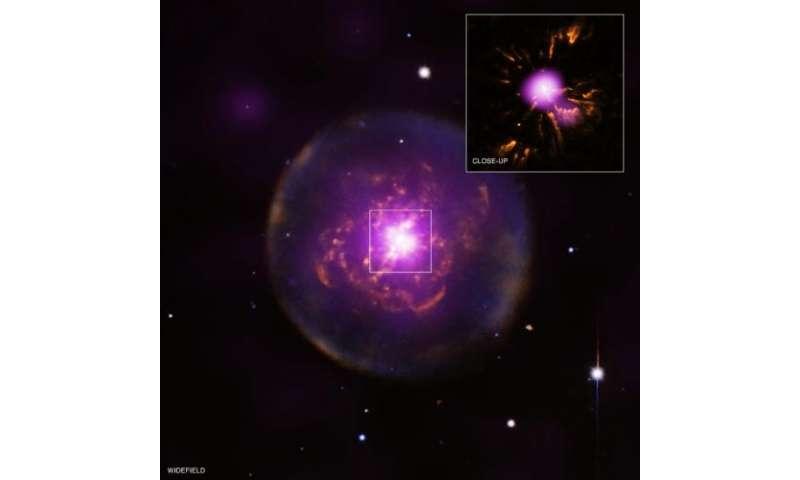 X-rays from a reborn planetary nebula