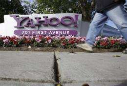 Yahoo's 1Q results show progress under new CEO (AP)
