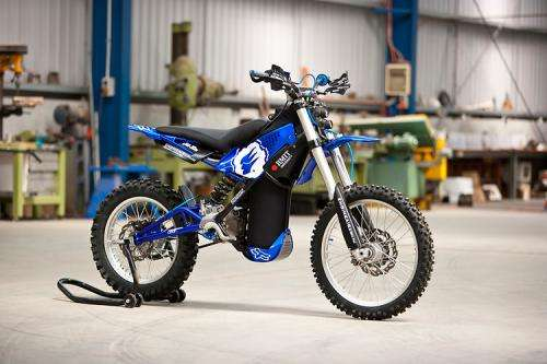 Yamaha-frame bike with scuba tank makes Dyson shortlist