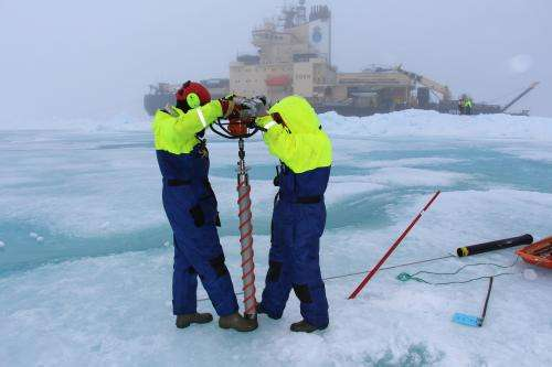 Back from the ice: Research team returns from Fram Strait