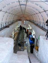 Bedrock breakthrough in Antarctica