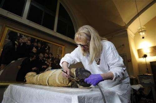 Boston hospital cleaning 2,500-year-old mummy