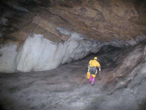 Caves point to thawing of Siberia