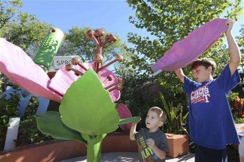 Children's garden in Dallas aims to teach science