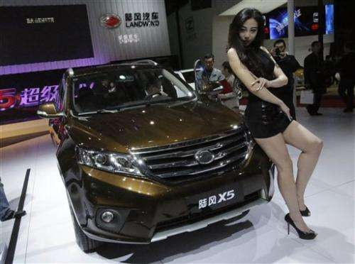 China's struggling automakers jump on SUV boom