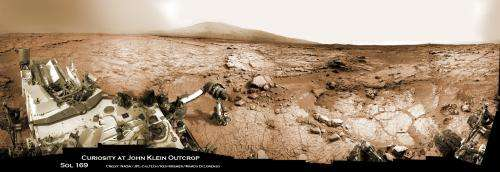 Curiosity is back! Snapping fresh Martian vistas