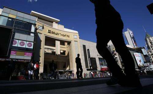 Dolby Theatre turns up the volume for first Oscars