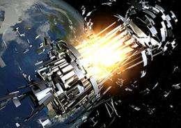 Focus on growing threat of space debris