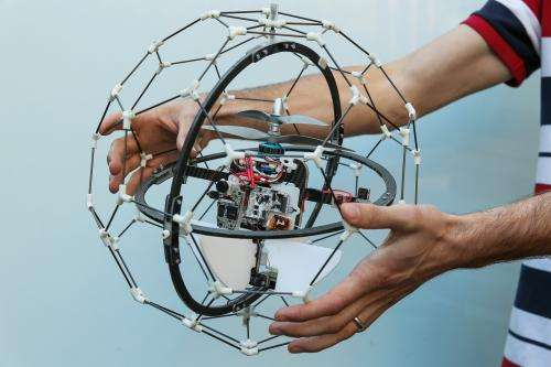 Gimball: A crash-happy flying robot (w/ Video)