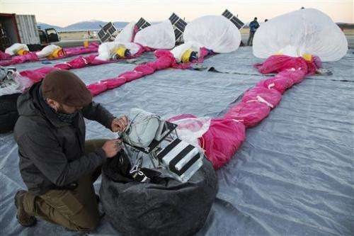 Google begins launching Internet-beaming balloons