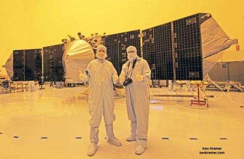 Government shutdown stops MAVEN work; Threatens NASA Mars launch