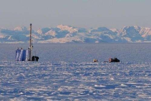 Greenland ice stores liquid water year-round
