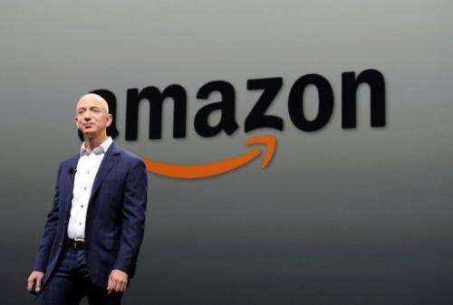 Jeff Bezos, CEO of Amazon, introduces new Kindle Fire HD Family and Kindle Paper on September 06, 2012 in California