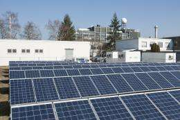 Largest PV facility for own consumption in Germany