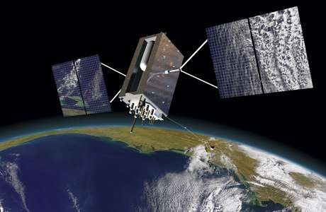 Lockheed Martin powers on the first GPS III satellite