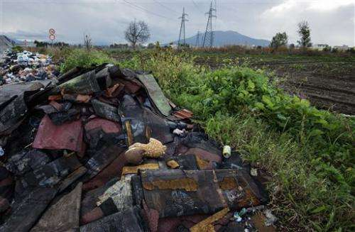 Mafia toxic waste dumping poisons Italy farmlands