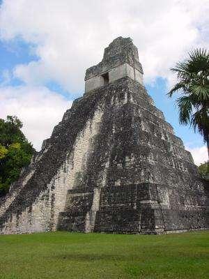 Maya Long Count calendar and European calendar linked using carbon-14 dating