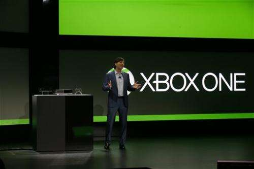 Microsoft reveals Xbox One entertainment console