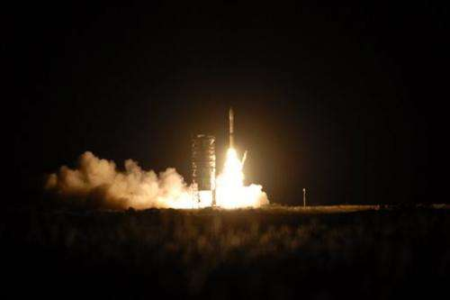 Mid-Atlantic rocket launch gives East rare view