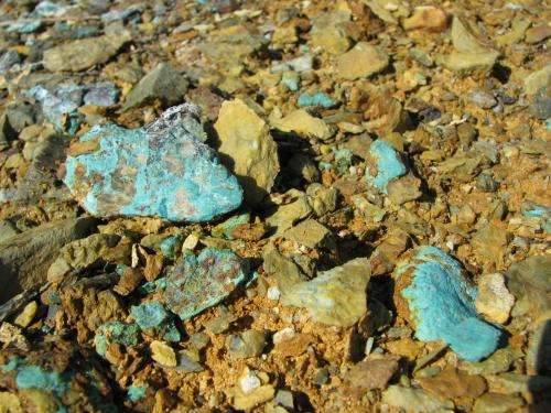 Mine metals at Maine Superfund site causing widespread contamination