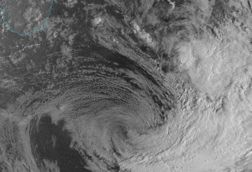 NASA-NOAA's Suomi NPP satellite sees a fading Felleng