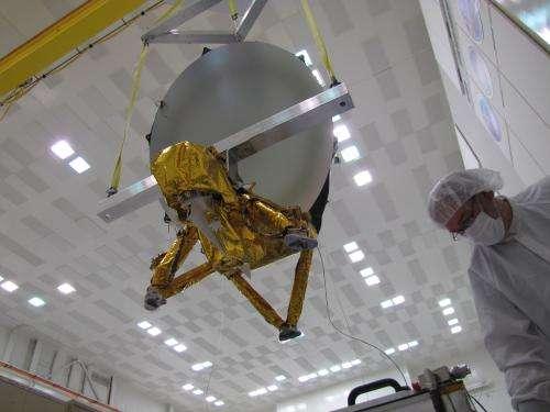 NASA ships sensors for seafaring satellite to France
