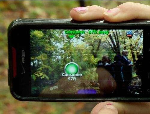 Nature field trips go digital