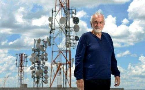 Nelio Jose Nicolai poses for a picture in Brasilia, on February 14, 2013.