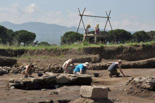 Newly unearthed ruins challenge views of early Romans
