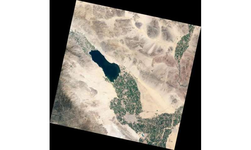 New NASA satellite takes the Salton Sea's temperature