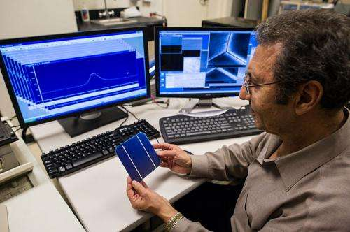 New solar cell is more efficient, less costly