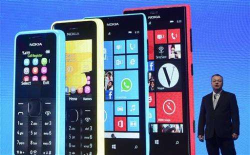 Nokia in Q3 net loss as sales continue plunge
