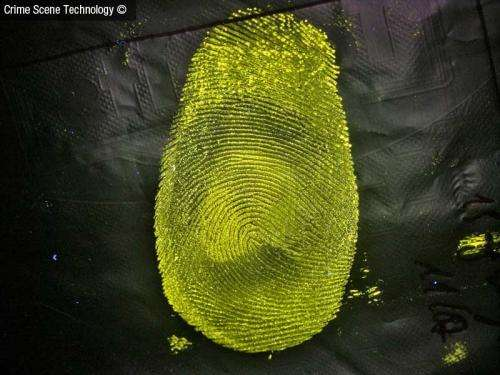 Novel technique to detect fingerprints