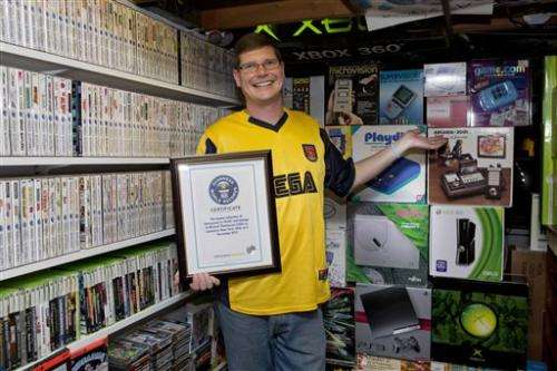 NY man's 10,607 video games secure Guinness title