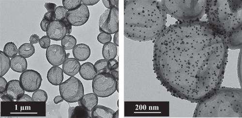 Rust protection from nanocapsules