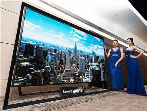Samsung sells 110-inch ultra-HD TV for $150,000