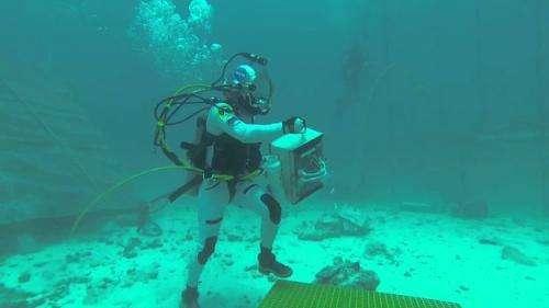 Seatest underwater adventure