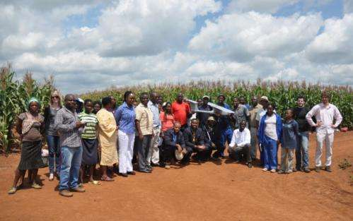 'Skywalker': Aeronautical technology to improve maize yields