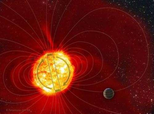 Star Tau Boo's baffling magnetic flips