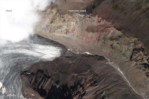 Summer heat wave may have triggered landslide on lonely Alaskan glacier
