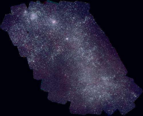Swift satellite produces best ultraviolet maps of the nearest galaxies