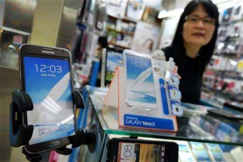 Taiwan tech industry faces up to Samsung