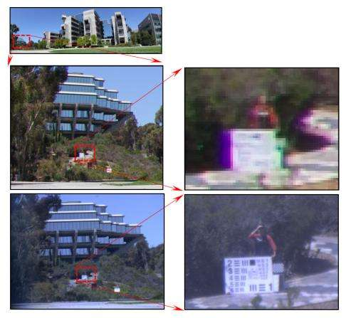 Tiny camera records details of scene without losing sight of the big picture