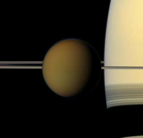 Titan gets a dune 'makeover'