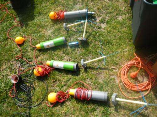 Underwater sensor successfully tested at Rutbeek
