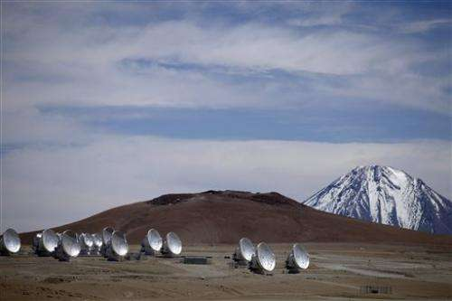Workers strike at world's largest radio telescope