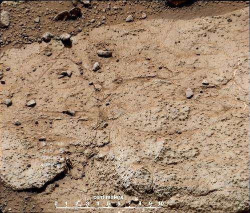 Curiosity rover team selects second drilling target on Mars