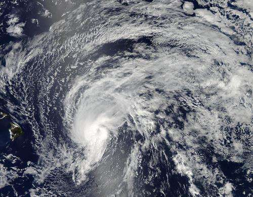NASA sees Tropical Storm Flossie near Hawaii